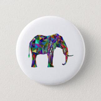 Elephant Revival 6 Cm Round Badge