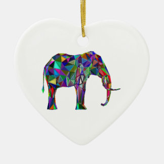 Elephant Revival Ceramic Ornament