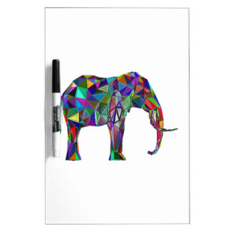Elephant Revival Dry Erase White Board
