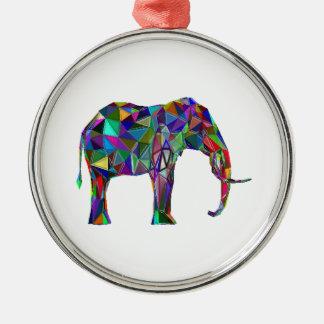 Elephant Revival Metal Ornament