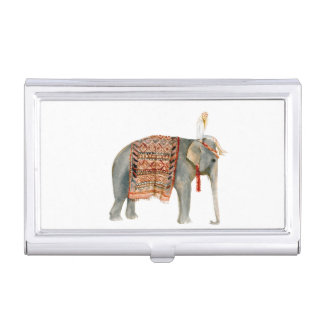 Elephant Ride Business Card Holder