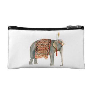 Elephant Ride Cosmetic Bag