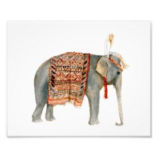 Elephant Ride Photo Print