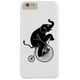 Elephant Riding a Bike Barely There iPhone 6 Plus Case
