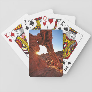 Elephant Rock in the Valley of Fire Playing Cards