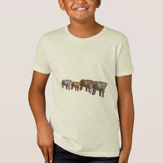 Elephant Safari Kids T-Shirts