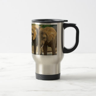 Elephant Safari Travel Mug