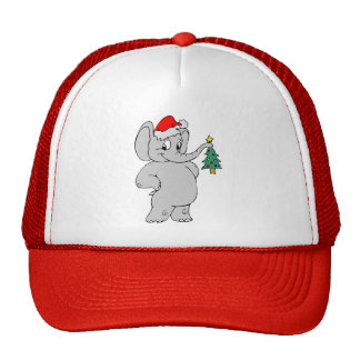 Elephant (Santa Hat)