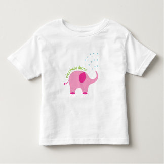 Elephant Shoes I Love You Toddler T-shirt
