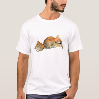 Elephant Shrew with Baby T-Shirt