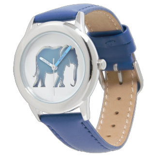 Elephant Sihouette Minimal Modern Elegant Trendy Watch