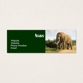 Elephant Skinny Business Card Template