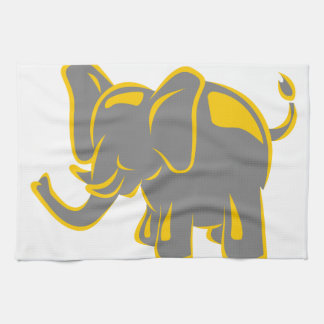 Elephant Tea Towel