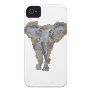 Elephant Themed Design iPhone 4 Case