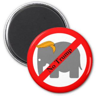 Elephant Toupee No Trump Magnet