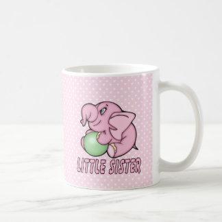 Elephant Toy Little Sister Coffee Mug