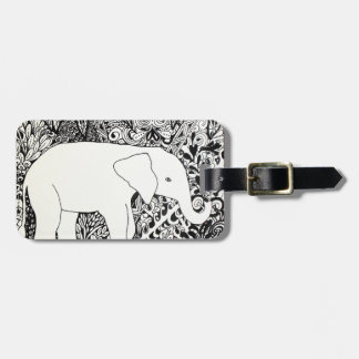 Elephant Travel tag