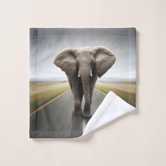 Elephant Trucker Wash Cloth