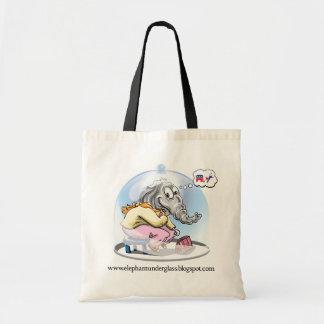 Elephant Under Glass Bag