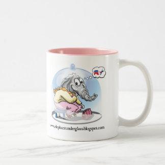 Elephant Under Glass Mug