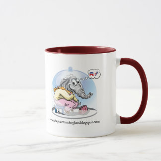 Elephant Under Glass Mug