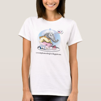 Elephant Under Glass T-Shirt