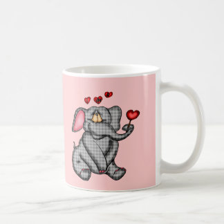 Elephant Valentine T-shirts and Gifts Coffee Mug