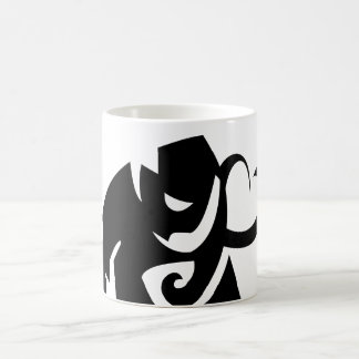 elephant vector shape mug