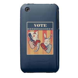 Elephant vs. Donkey Case-Mate iPhone 3 Case