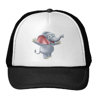 Elephant Waving Hat
