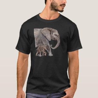 Elephant with Baby Elephant T-Shirt