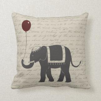 Elephant with Balloon Cushion