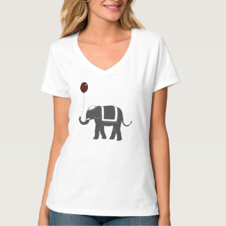 Elephant with Balloon T-Shirt
