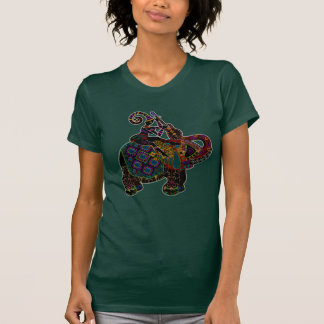 Elephant with Guitar Player T-Shirt