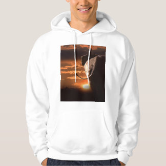Elephant with Sunset Hoodie