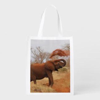Elephant Grocery Bag