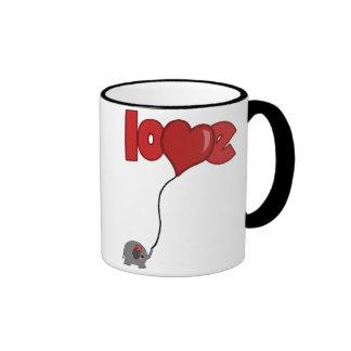 ElephantBalloon Coffee Mug