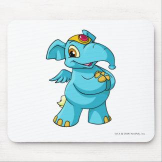Elephante Blue Mouse Pad