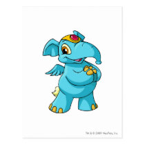 Elephante Blue postcards