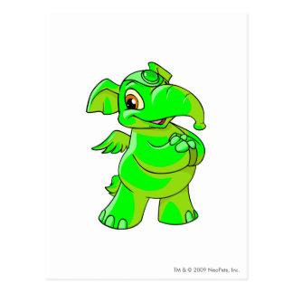 Elephante Glowing.Pn Postcard