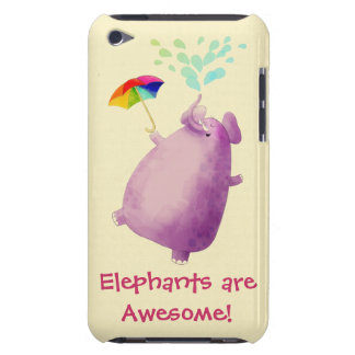 Elephants are Awesome iPod Touch Cases