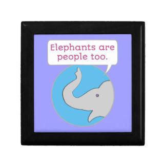 Elephants are People Too Gift Box