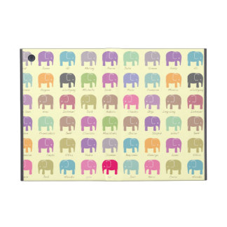 Elephants are your best friends ipad mini case