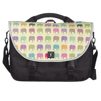 Elephants are your best friends laptop bag