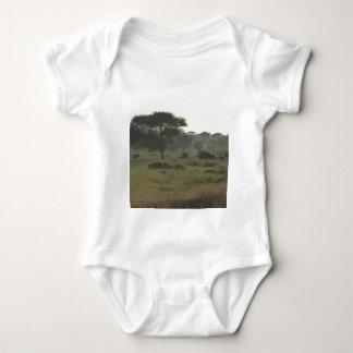 Elephants Babygrow, African Safari Collection Baby Bodysuit