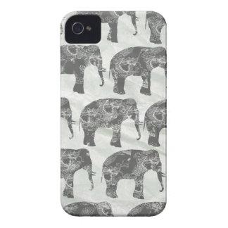 Elephants iPhone 4 Cover