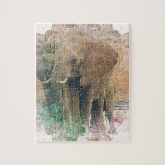 Elephants Jigsaw Puzzle