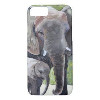 ELEPHANTS MOTHER iPhone 7 CASE