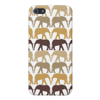 Elephants Pattern Case For The iPhone 5