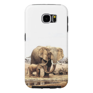 Elephants Samsung Galaxy S6 Cases